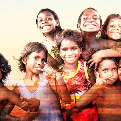Image of Aboriginal children