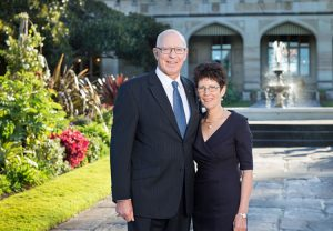 His Excellency General the Honourable David Hurley AC DCS (Ret'd) Governor of NSW and Mrs Linda Hurley