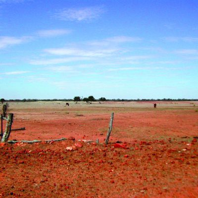 Drought conditions in Bourke NSW