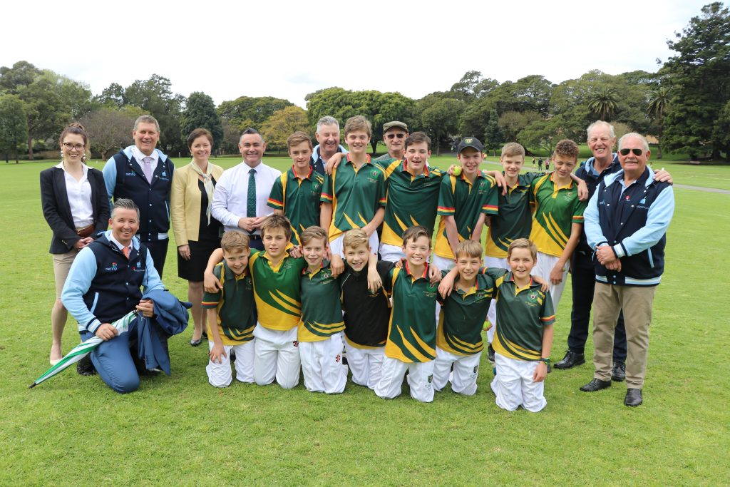 Baggy Blues Cricket Tour Launch
